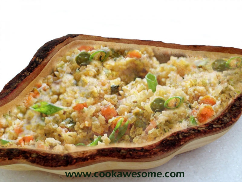 how to cook cauliflower rice in oven