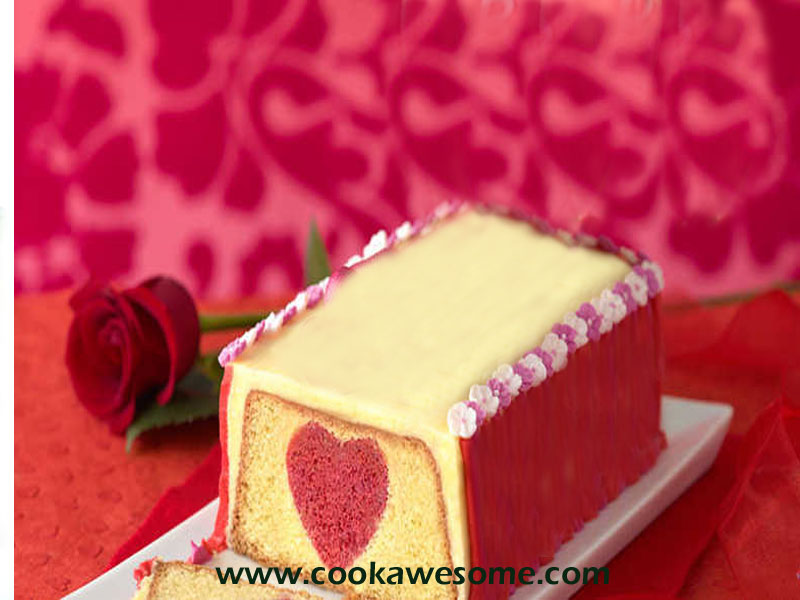 Hidden Sweetheart Cake Recipe