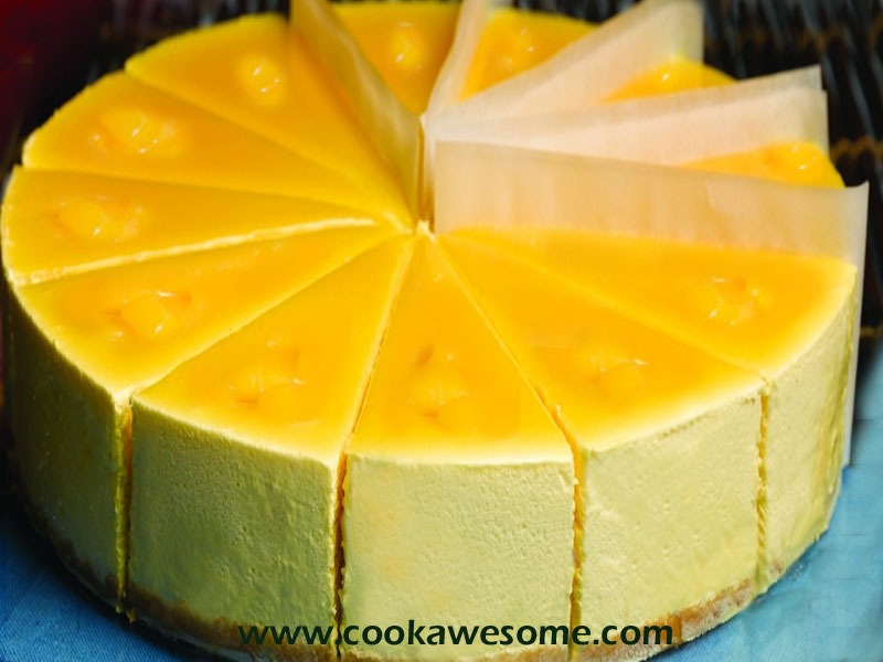 Mango Mousse Cake Recipe