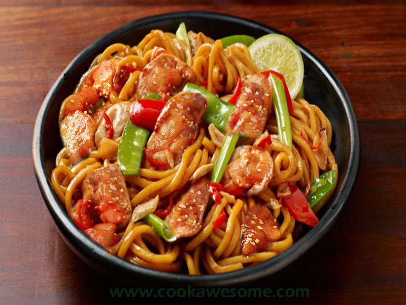 Chicken Noodles Recipe