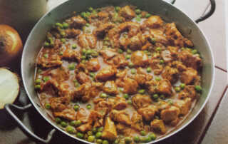 Lamb and Peas Stew Recipe