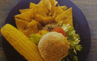 Mexican Beef Burgers Recipe