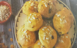 Sunflower Kishmish Biscuit Recipe