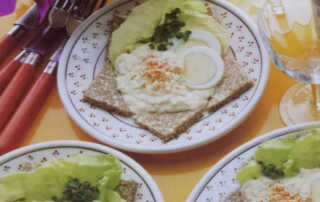 Egg Mayonnaise Appetizer Recipe