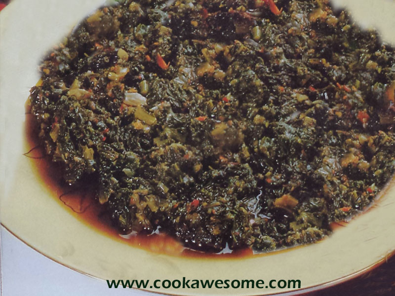 Fried Spinach Recipe