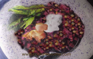 Beetroot with Lamb Recipe
