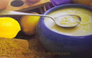 Egg Lemon Soup Recipe