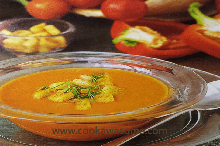 Tomato Sweet Pepper Soup