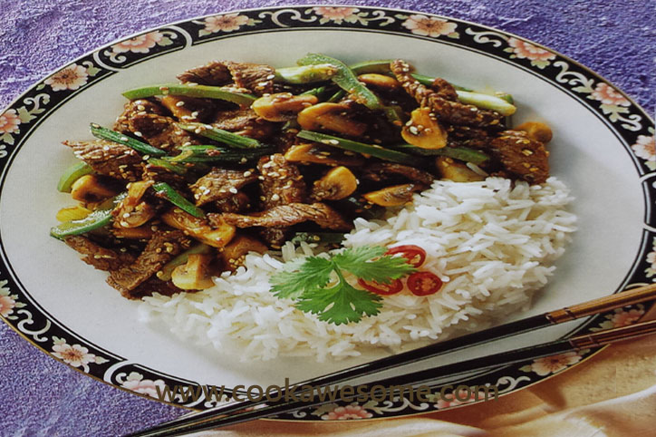 Chinese Sesame Beef