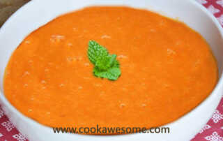 Cucumber and Tomato Soup