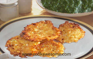 Sweetcorn Patties Recipe